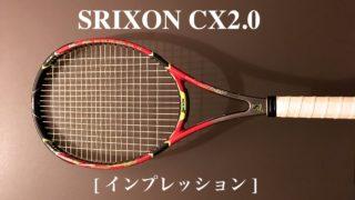 スリクソンcx2.0インプレ