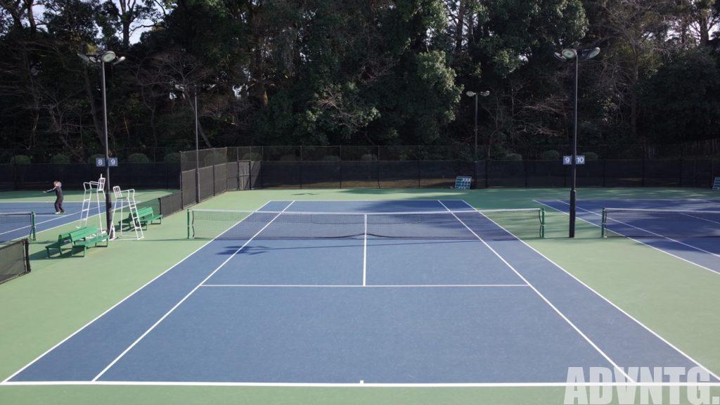 吉野記念テニス研修センター(TTC)のハードコート