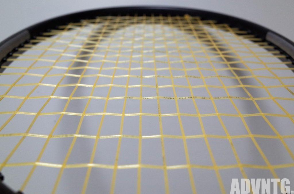 トアルソンゴールドオリジナル1.30をエクスカリバーに張った写真